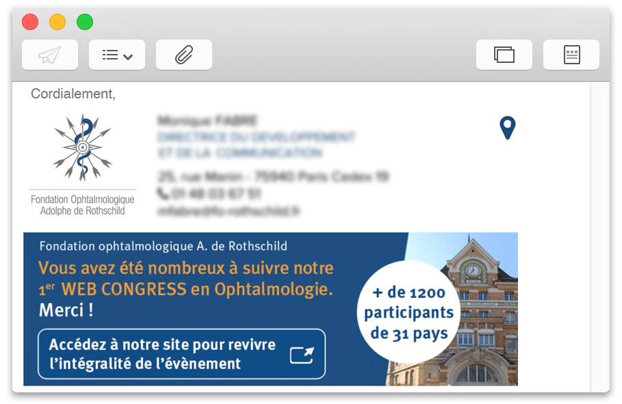 Email fondation